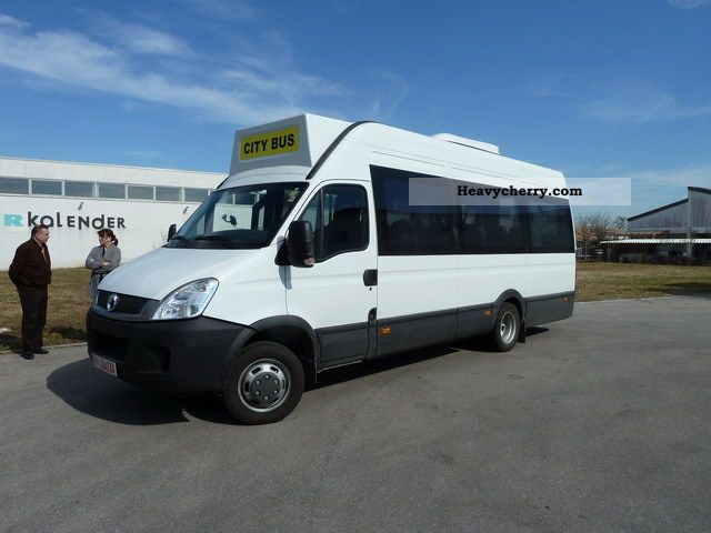iveco daily 50 c 17 2011 clubbus photo and specs. Black Bedroom Furniture Sets. Home Design Ideas
