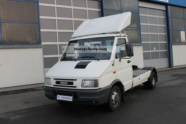 1998 Iveco  Daily 35-12 - 3.5 tonnes GVW Semi-trailer truck Standard tractor/trailer unit photo
