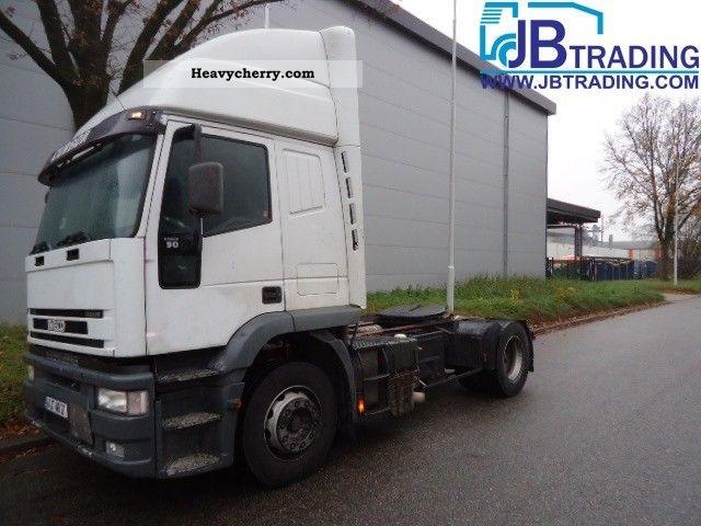 2000 Iveco  EuroTech cursor 390 Semi-trailer truck Standard tractor/trailer unit photo