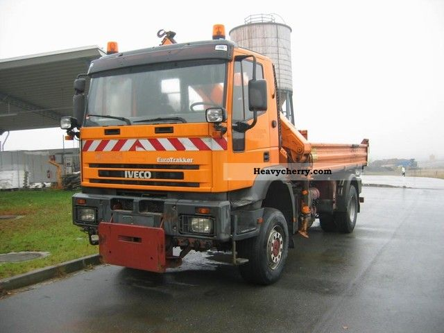 1997 Iveco  190 EH 30 Tipper - Crane - Winter Service Truck over 7.5t Tipper photo