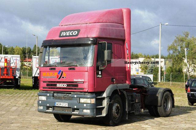 2001 Iveco  EuroTech 440E39 T / P CURSOR - BLOCK Diferenz / PTO Semi-trailer truck Standard tractor/trailer unit photo