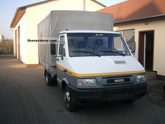 1998 Iveco  35.10 2,8 TD Van or truck up to 7.5t Chassis photo
