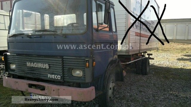 1982 Iveco  MAGIRUS 80-13 Truck over 7.5t Chassis photo