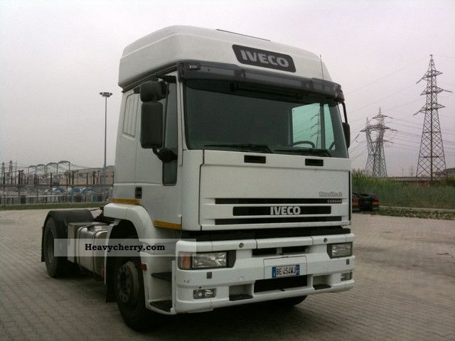 1999 Iveco  EUROTECH 350 Semi-trailer truck Standard tractor/trailer unit photo