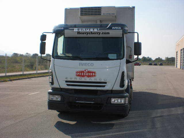 2006 Iveco  EUROCARGO ML 140E24 FRIGO Truck over 7.5t Refrigerator body photo