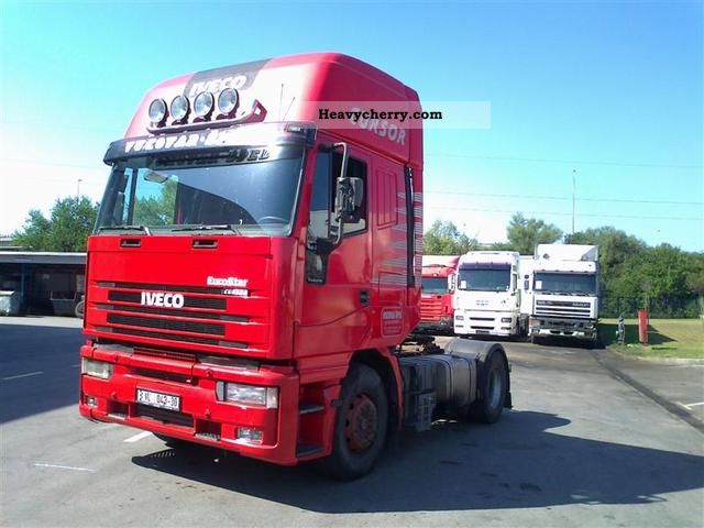 2002 Iveco  Euro star 480 Semi-trailer truck Standard tractor/trailer unit photo