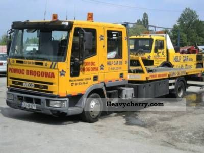 Iveco EUROCARGO 80E15 Falkom 1996 Breakdown truck Photo