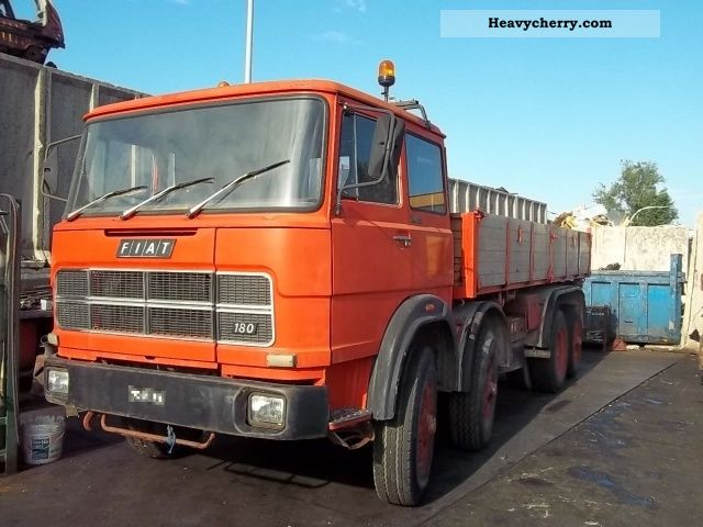 1974 Iveco  FIAT 691 Truck over 7.5t Three-sided Tipper photo