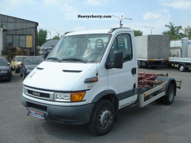 2004 Iveco  Daily 60C15 Van or truck up to 7.5t Roll-off tipper photo
