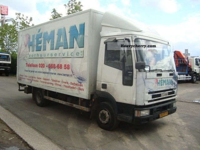 Iveco EUROCARGO ML80E18 2003 Box Truck Photo and Specs