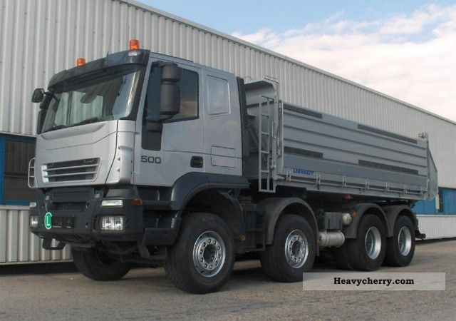 2007 Iveco  AT410T50 E5 Trakker 500 hp 3-S-tippers Truck over 7.5t Tipper photo