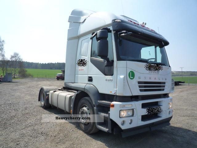 2008 Iveco  AT 440S45 EURO5, Automatick Semi-trailer truck Standard tractor/trailer unit photo