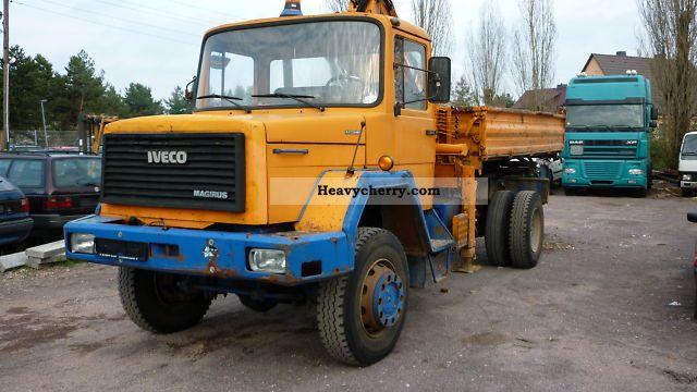 1983 Iveco  Magirus Truck over 7.5t Other trucks over 7 photo