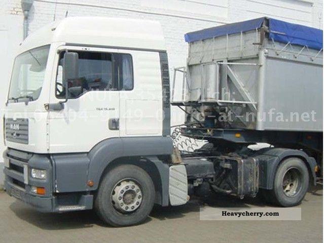 2003 MAN  TGA 18.410 BLS/36 Semi-trailer truck Standard tractor/trailer unit photo