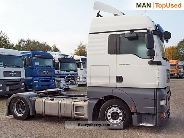 Man Tga 18 400 4x2 Bls 2007 Volume Trailer Photo And Specs