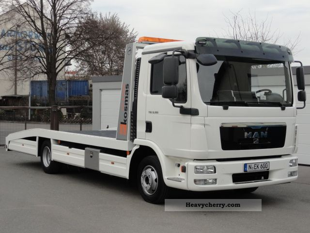 2005 MAN  8180 TGL TOW * EXCELLENT CONDITION * AIR * NEW * Van or truck up to 7.5t Breakdown truck photo