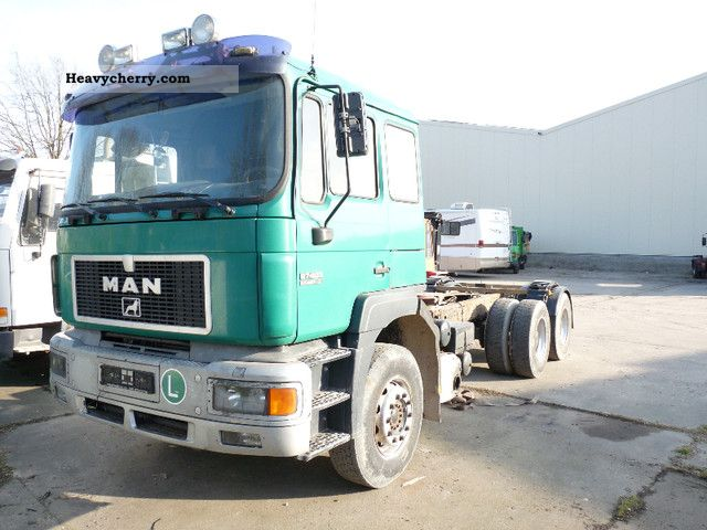 1997 MAN  27 403 6x4 sheet sheet Gro. House Kipphydraulik Semi-trailer truck Heavy load photo