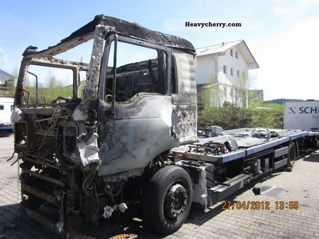 2003 MAN  TGA 18 360 580 000 with motor swap Truck over 7.5t Car carrier photo