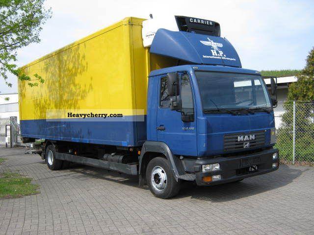 2003 MAN  LE 12.220 Truck over 7.5t Refrigerator body photo