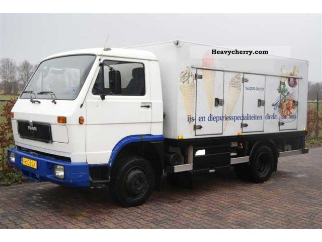 1992 MAN  KOELWAGEN 6100-25C (EXPORT) Van or truck up to 7.5t Box photo