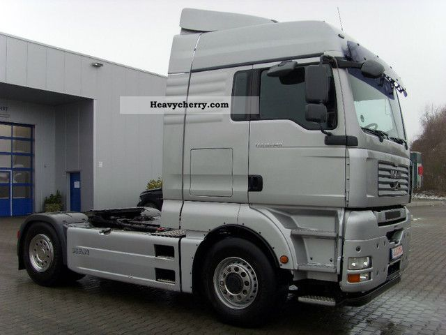 2007 MAN  XL 18 440 SWITCHES PUSH HYDRODRIVE EU 4 + KIPPHY Semi-trailer truck Standard tractor/trailer unit photo