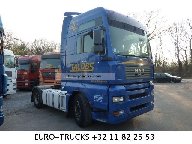 2006 MAN  TGA 18 430 XXL 4 UNITS Semi-trailer truck Standard tractor/trailer unit photo