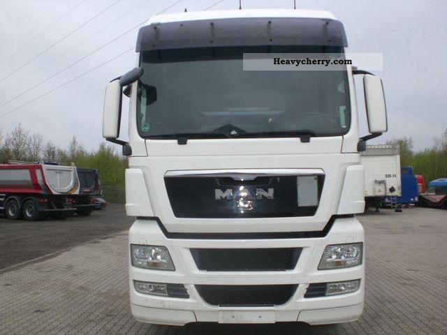2008 MAN  TGA 18.440 XXL AUTOMATIC RETARDER € 5 Semi-trailer truck Standard tractor/trailer unit photo