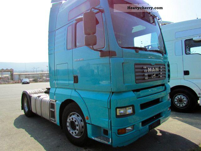 2004 MAN  18.480 Semi-trailer truck Standard tractor/trailer unit photo