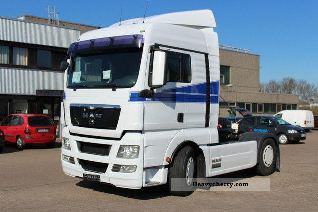 2008 MAN  18 480 TGX-retarder-Auto-5 € Semi-trailer truck Standard tractor/trailer unit photo