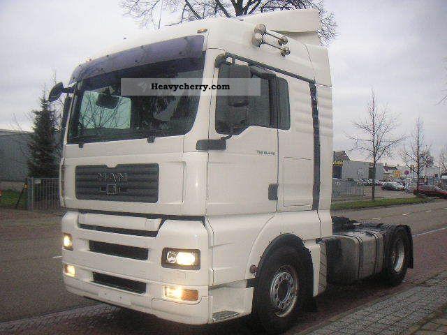 2007 MAN  TGA 18.440 XLX Manuel gearbox / retarder Semi-trailer truck Standard tractor/trailer unit photo