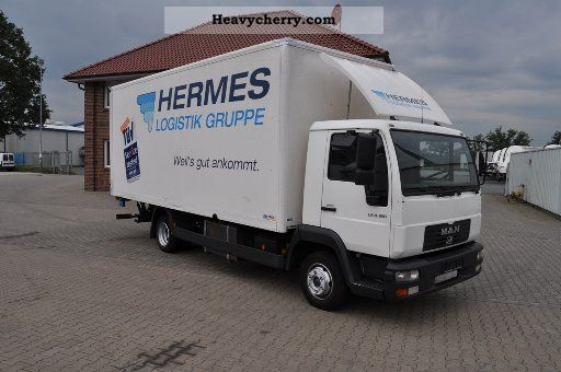 2003 MAN  LE 8.180 suitcase .... with LBW Van or truck up to 7.5t Other vans/trucks up to 7 photo