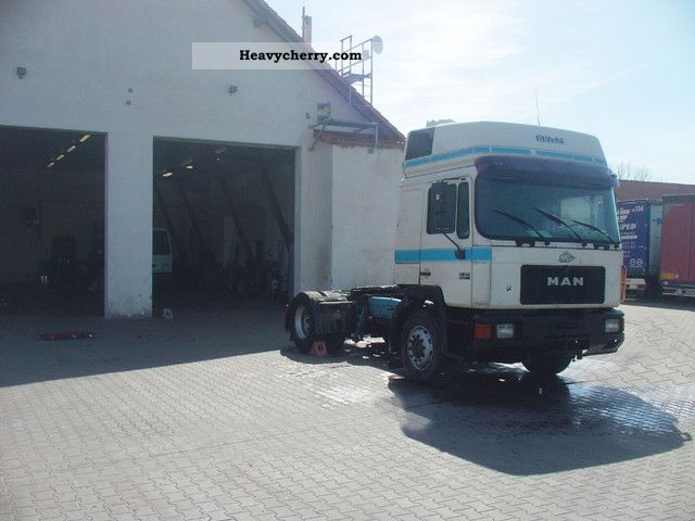 1998 MAN  19 403 Semi-trailer truck Standard tractor/trailer unit photo