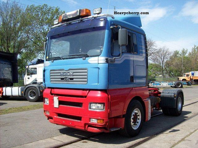 2003 MAN  TGA 18.460, air, retarder, (not 410.460) Semi-trailer truck Standard tractor/trailer unit photo