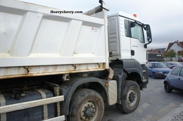 Man Tgs 41 440 8x8 Bb 2009 Three