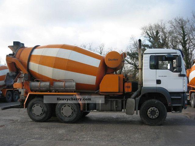 MAN TGA 26 390 / 6X4-Schwing Stetter 7m ³ 2005 Cement mixer