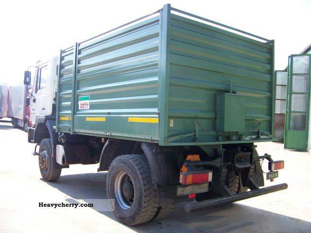 4x4 Truck And Tractors : Man wheel standard tractor trailer unit