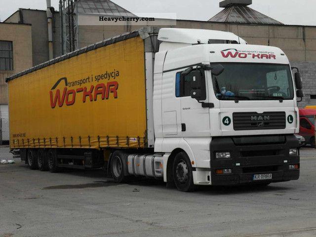 2007 MAN  18 440 Ciągnik lub zestaw Semi-trailer truck Standard tractor/trailer unit photo