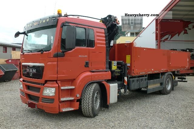 2011 MAN  TGS 18 400 body + PK18002 EH with gripper Truck over 7.5t Stake body photo