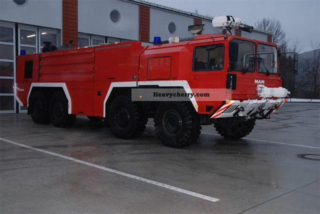 1992 MAN  Fire Department Rosenbauer FLF 11 000 Truck over 7.5t Other trucks over 7 photo
