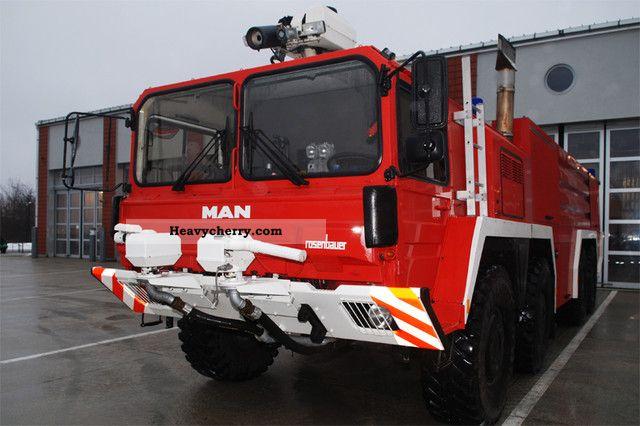 MAN Fire Department Rosenbauer FLF 11 000 1992 Other trucks