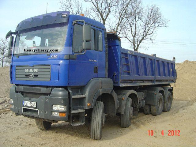 2007 MAN  TGA 41.480 8X6 Truck over 7.5t Tipper photo