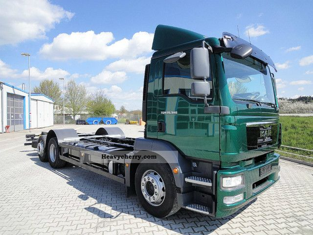 MAN 26 340 TGM chassis 6x2/Lift-Lenkachse/ADR 2012 Chassis