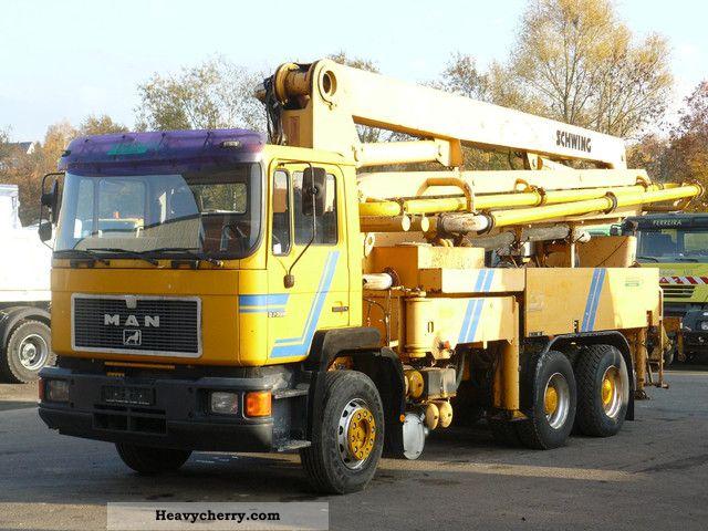 MAN 27 322 6x4 32m Schwing 1994 Concrete Pump Truck Photo