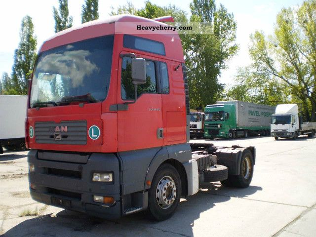 2003 MAN  TGA 18.413 Semi-trailer truck Standard tractor/trailer unit photo