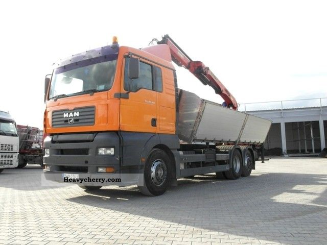 2003 MAN  TGA 26.413 6x2 Truck over 7.5t Tipper photo
