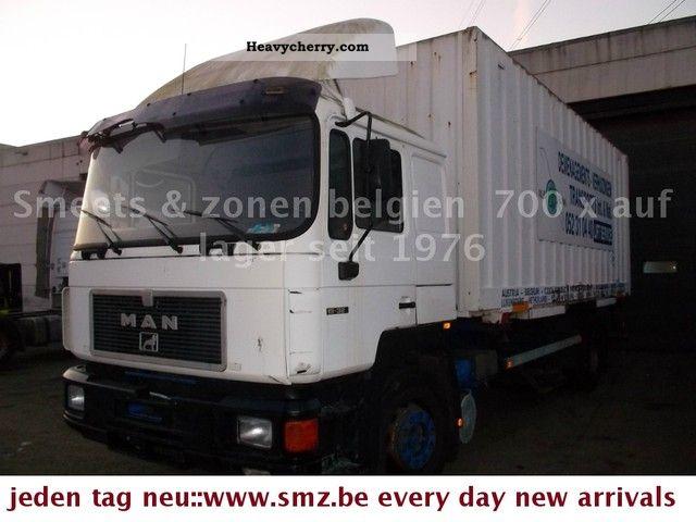 1992 MAN  19-322 Truck over 7.5t Box photo