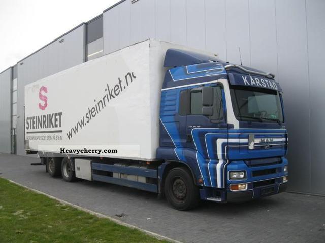 man tga 6x2 manuel xl euro 3 2006 box truck photo and specs. Black Bedroom Furniture Sets. Home Design Ideas