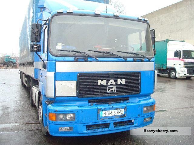 1995 MAN  19 403 Semi-trailer truck Standard tractor/trailer unit photo