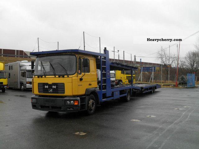2003 MAN  ME 18.280 Ligeplätz Truck over 7.5t Car carrier photo