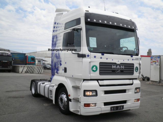 2005 MAN  TGA 430 EURO 4 LOW DECK MANUAL ANALOG Semi-trailer truck Volume trailer photo